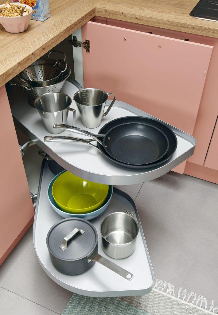 Corner Kitchen Cabinet Efficient Storage Solutions Cut