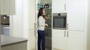 Corner Kitchen Cabinet Efficient Storage Solutions Cut To Size